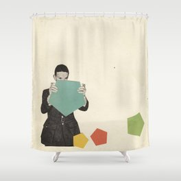 Discovering New Shapes Shower Curtain