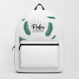 Happy National Palm Sunday Backpack