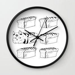 My Cat is Bread Wall Clock