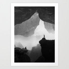 Parallel Isolation Art Print