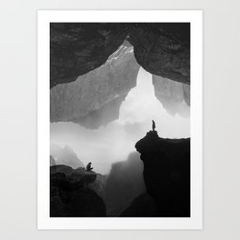 Parallel Isolation Art Print