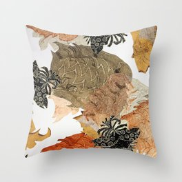 Carbonation Collection: pumpkin Throw Pillow