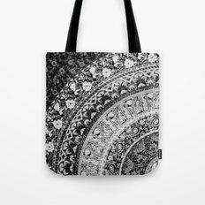 Ditsy Greyscale Tote Bag