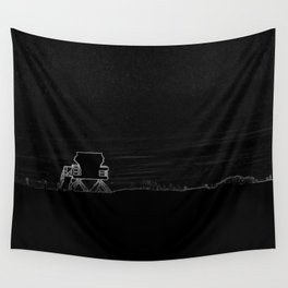 Horizon in Thin Lines Wall Tapestry