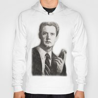 dale cooper Hoodies featuring TWIN PEAKS - AGENT COOPER by William Wong