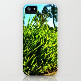 The world from an ant's point of view. iPhone Case