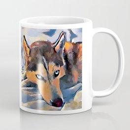 Husky 5 Coffee Mug