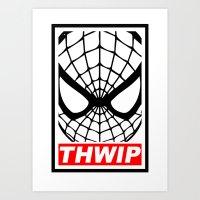 THWIP Art Print