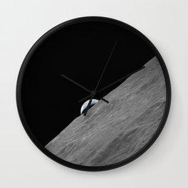 Apollo 17 - Crescent Moon Wall Clock
