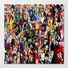 all anime cool Canvas Print