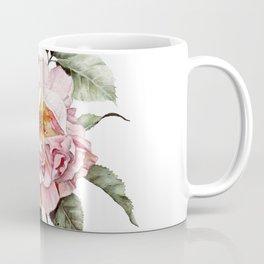 Wilting Pink Rose Watercolor Coffee Mug