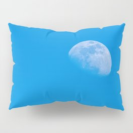 moon in the blue sky Pillow Sham