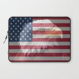 United States Freedom Eagle Laptop Sleeve