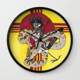 Roadrunner 4 Wall Clock