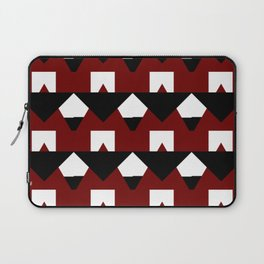 Modern Geometric Abstract Pattern Laptop Sleeve
