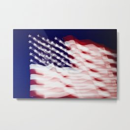 Abstract This Is America Metal Print