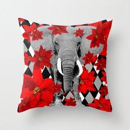 ELEPHANT #5 Throw Pillow