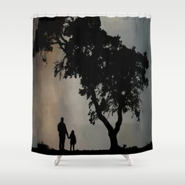 Grandpa Tell Me About The Good Old Days Shower Curtain