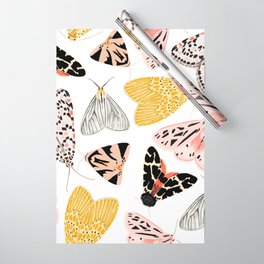 Moth's Diverse Beauty Pattern Wrapping Paper
