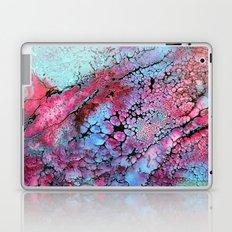 Magenta in turquoise Laptop & iPad Skin