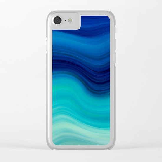 SEA BEAUTY 2 Clear iPhone Case