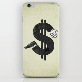 Costs an Arm & a Leg! iPhone Skin