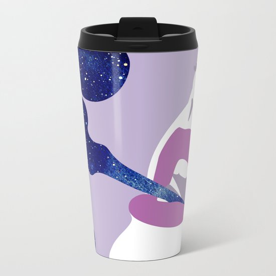 Starry Haze Metal Travel Mug