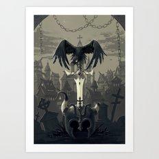 Dark Times Art Print