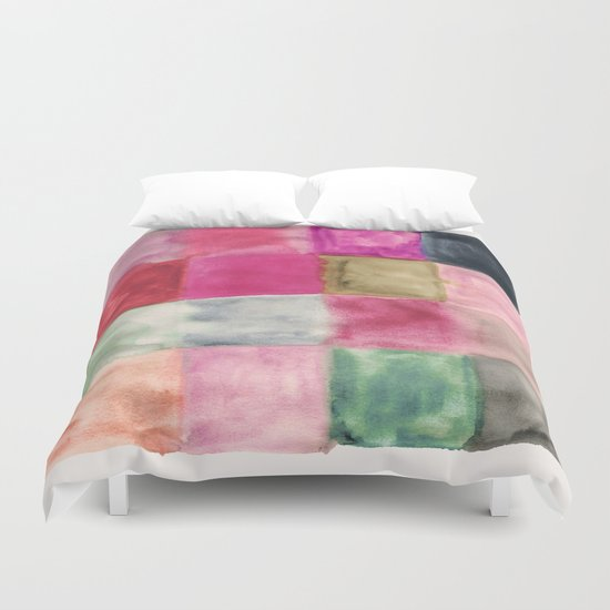 colour + pattern 7 Duvet Cover