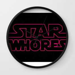 Star Whores Wall Clock