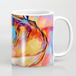 Frog Watercolor Coffee Mug