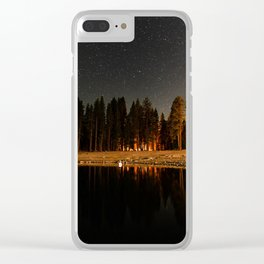 Under the Stars 2 Clear iPhone Case