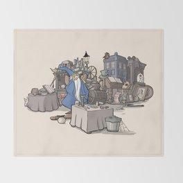 Collection of Curiosities Throw Blanket