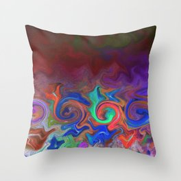 Tuesday Morning Leftovers Throw Pillow