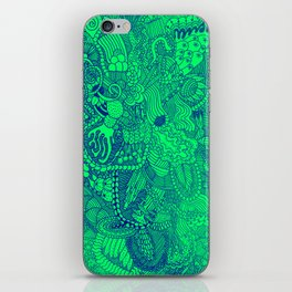 The Underbrush Minty iPhone Skin