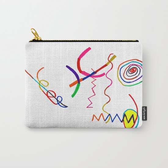 Funky Way Doodle Carry-All Pouch