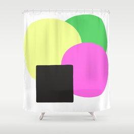 Summer Equilibrium Shower Curtain