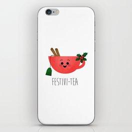 Festivi-tea iPhone Skin