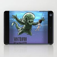 xenomorph iPad Cases featuring Nirvana : nevermind by Billy Allison