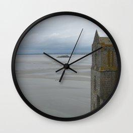 Mont St. Michel Wall Clock