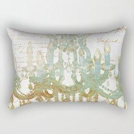 Sea Foam Chandelier Paris Rectangular Pillow