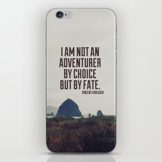 Adventurer by Fate iPhone & iPod Skin