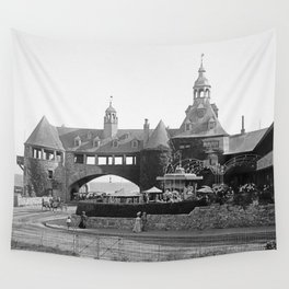1890 Narragansett Towers & Casino, Narragansett, Rhode Island Wall Tapestry
