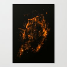 Mrs.Grizzly Canvas Print