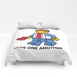 Love One Another Comforters