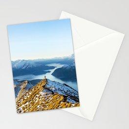 Dancing Peaks Stationery Cards
