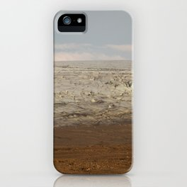 Ice meets Earth iPhone Case