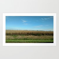 Today is brought to you by: Corn. Art Print