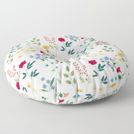 Spring Botanicals Floor Pillow