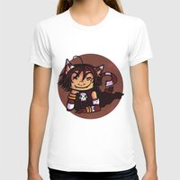 chess T-shirts featuring chess madness by elfi1991